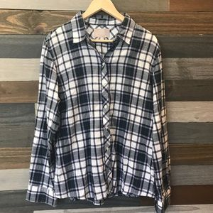 BANANA REPUBLIC Flannel Shirt NWOT